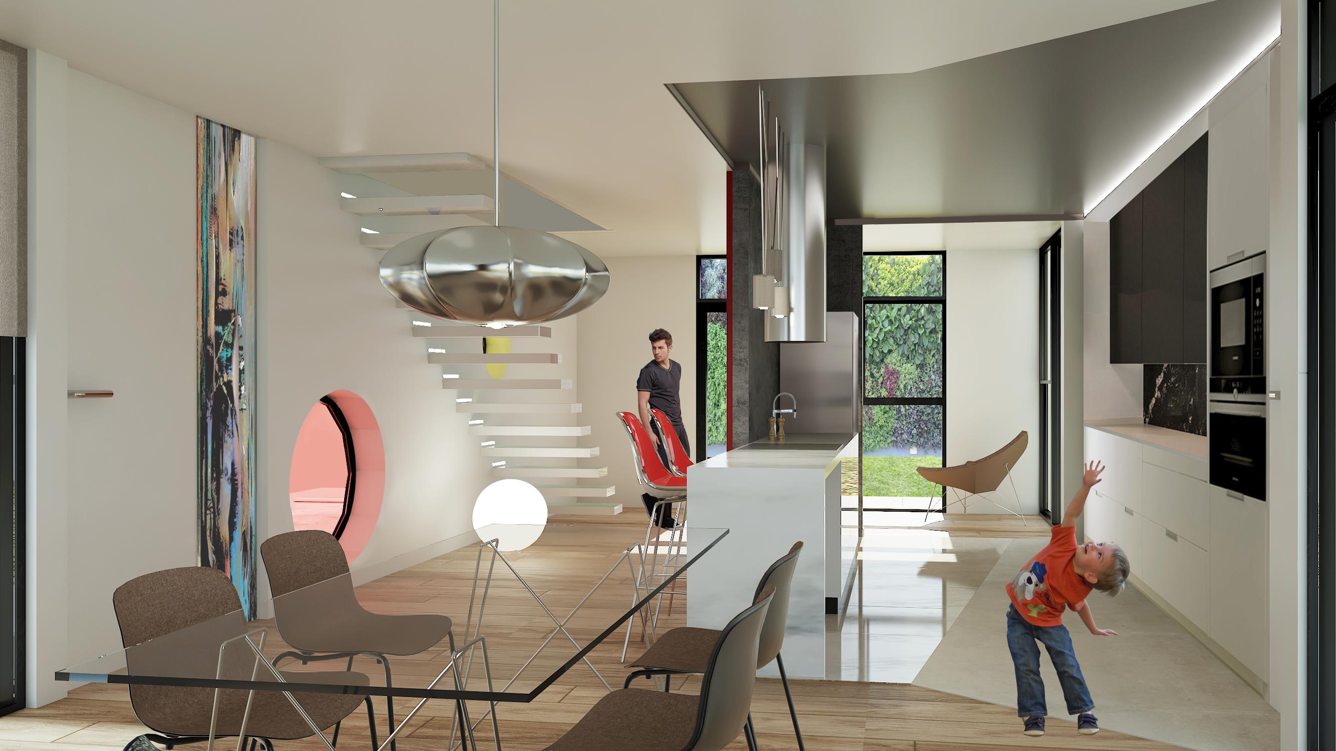 Comedor casa modular ContecHouse